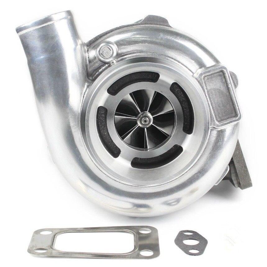 Rendimiento Universal GT30 GTX3071 rueda de palanquilla Turbo T3 .82 4 pernos carcasa de turbina