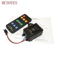 SP106E 9 touches LED contrôleur de musique DC5V-12V WS2811 /WS2812B /6812 /1903/6803 LED magique bande numérique coloré contrôleur de musique