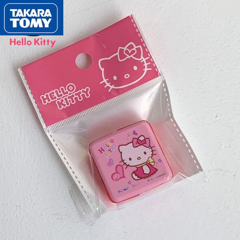 TAKARA TOMY милые Мультяшные Hello Kitty фотообои простые креативные пластиковые детские школьные принадлежности