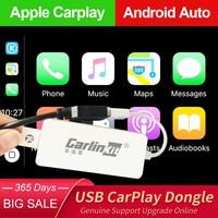 Проводной ключ Carlinkit Apple CarPlay, автоматический ключ для Android, для обслуживания автомобилей Android, Netflix, продажа AirPlay, Autokit Map, музыка, USB Smart Link