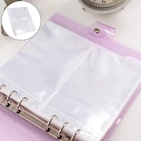 10 Pockets PVC Card Holder Photo Album Pages Album Pages Card Sleeves Storage Photo Holder Transparent 3 5 inch Album Page