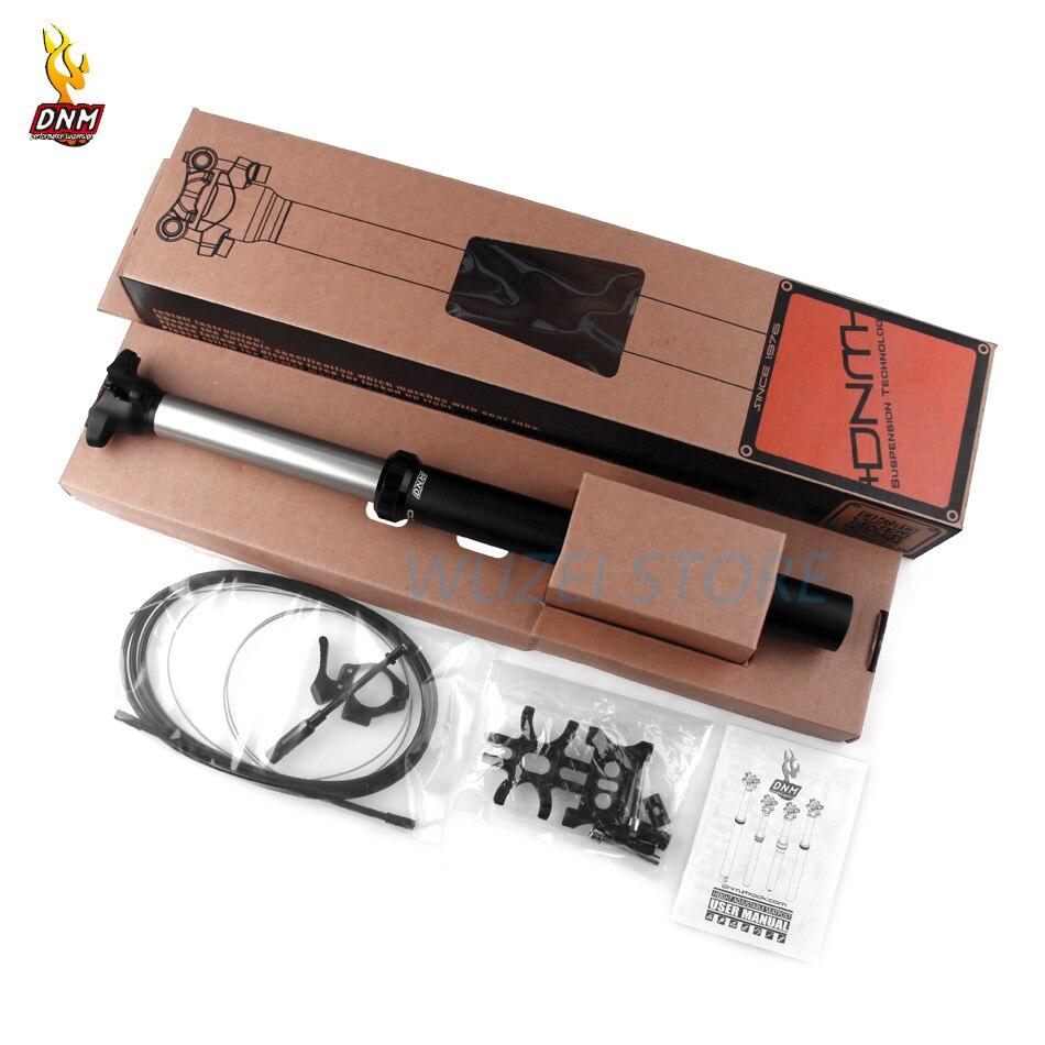 Cuentagotas de 30,9/31,6/34,9mm de altura ajustable, gotero de ajuste de presión de aire, poste del asiento de elevación de 380mm x 125mm para DNM