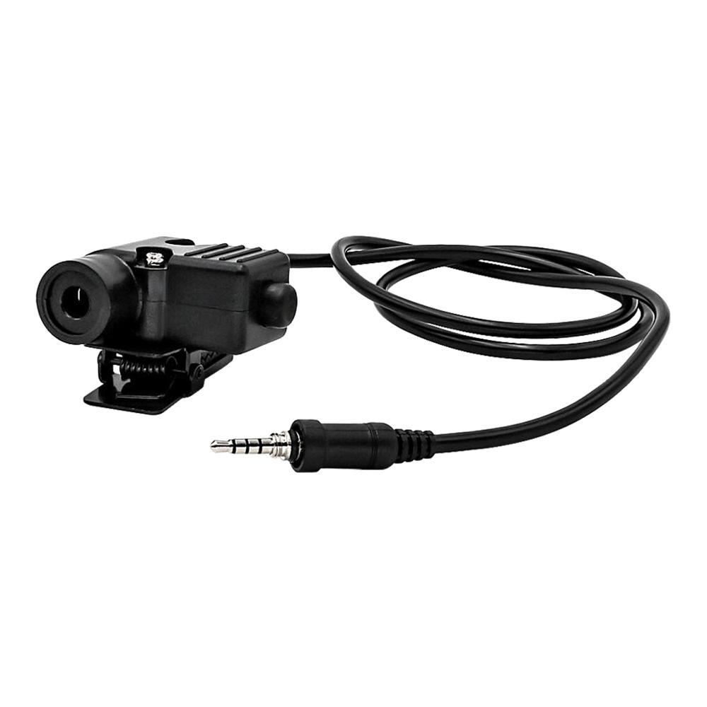 YAESU Vertex PTT U94 ptt is suitable for military tactical PTT of icom4300 VX-6R VX-7R VX6R VX7R FT-270   walkie-talkie headset enlarge