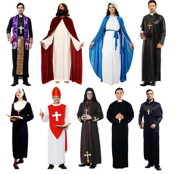 Vestido de fiesta de disfraces de Halloween de Navidad para mujeres y hombres