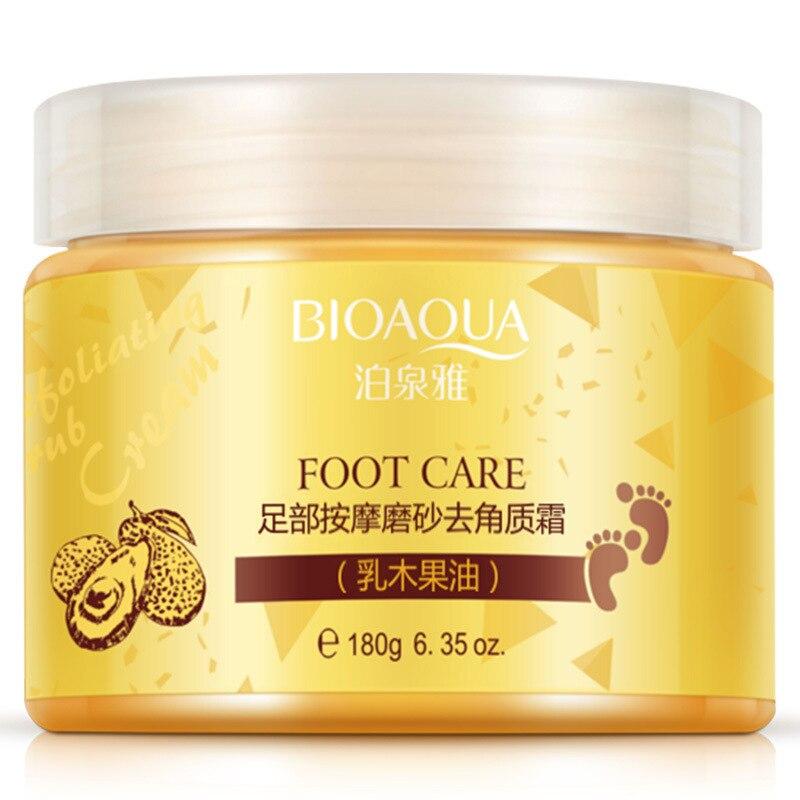 Crema de pies manteca de karité hidratante blanqueamiento Crema para el cuidado de los pies exfoliante antiseco cuidado de la piel sin edad