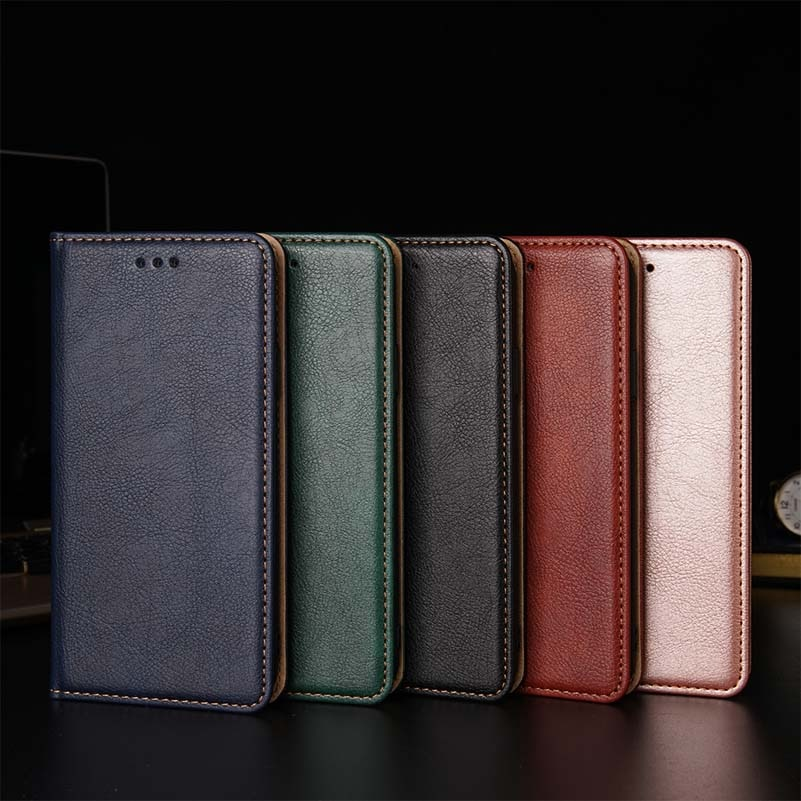 Ktry magnético teléfono caso para Moto G4 G5 G5S G6 E5 Z3 G7 P40 P30 E6 G8 Plus jugar de una nota visión Macro Zoom Pro