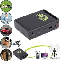 tk102b mini vehicle gsm gprs gps trackers or car vehicle tracking locator anti theft device universal car accessories