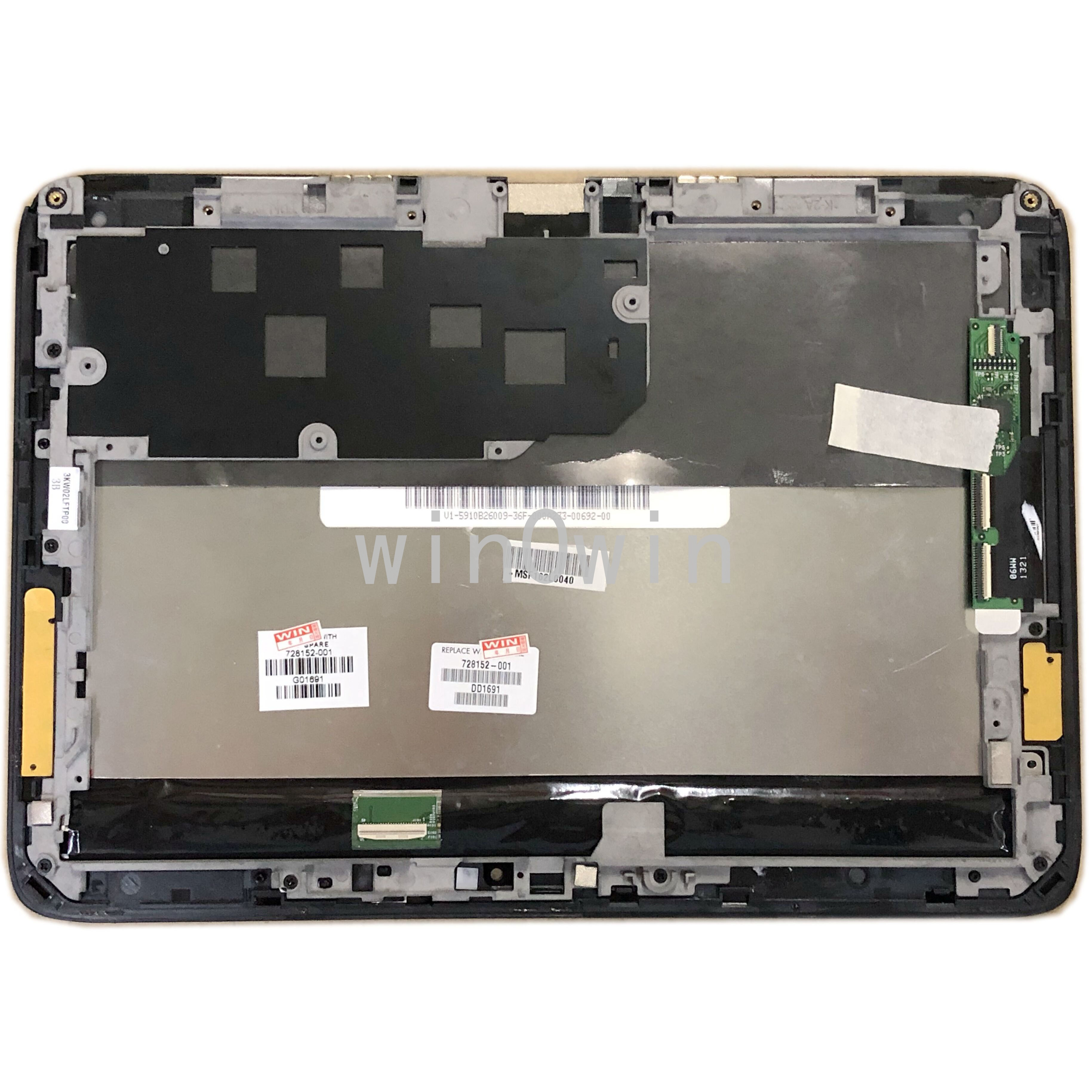 LCD شاشة led تعمل باللمس الزجاج محول الأرقام الجمعية لاستبدال HP SlateBook X2 10-H 10-h011ru 10-h010ss 728152-001