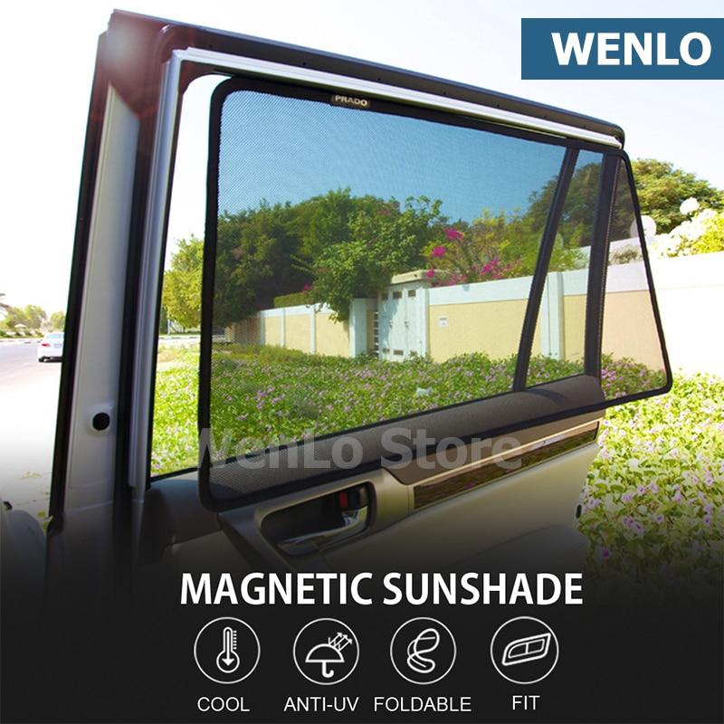 For Audi A3 Sedan A4 A4L A6 A6L Q2 Q3 Q5 Q5L Q7 S3 Hatchback Magnetic Car Side Window Sun Shades Cover Mesh car curtain