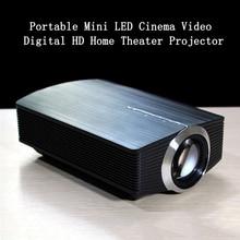 YG500 Upgrade Mini Projector 1080P 1800Lumen Portable LCD LED Projector Home Cinema USB HDMI 3D Beamer Bass Speaker