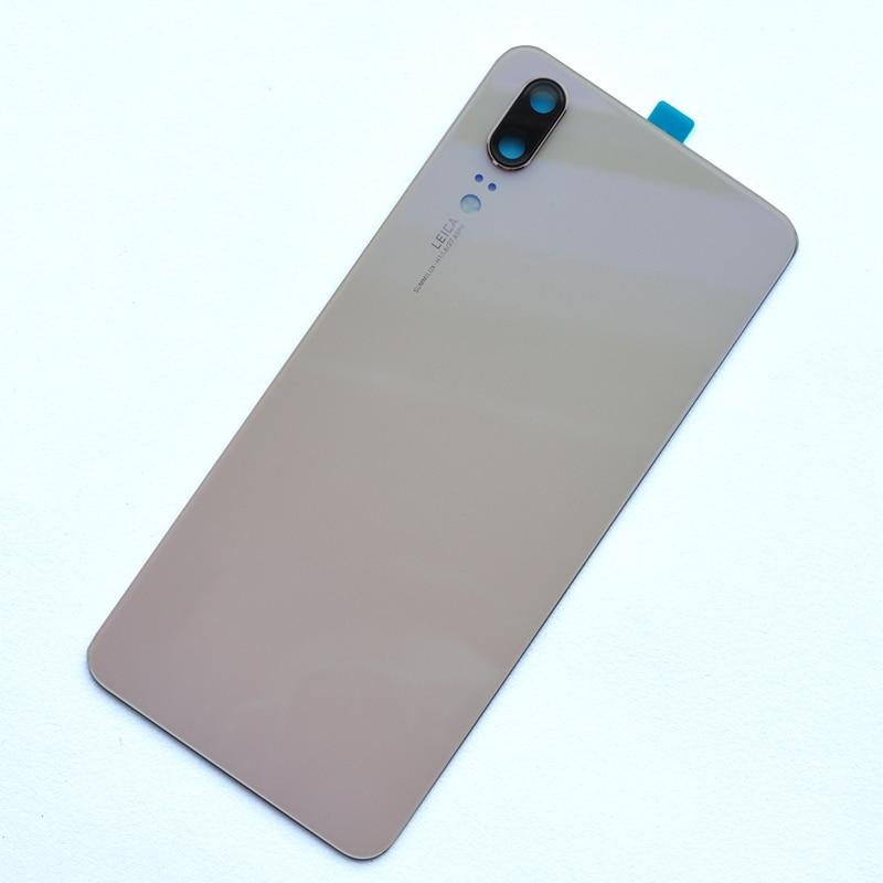 ZUCZUG New Original Glass Rear Housing For Huawei P20 Battery Cover Back Case Door P20 Replace Part