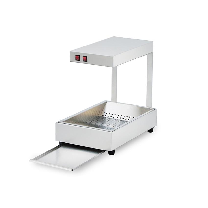 110/220V الغذاء دفئا آلة ل المقلية الفولاذ المقاوم للصدأ العزل آلة 0.31Kw التجارية دائم الغذاء الاحترار آلة