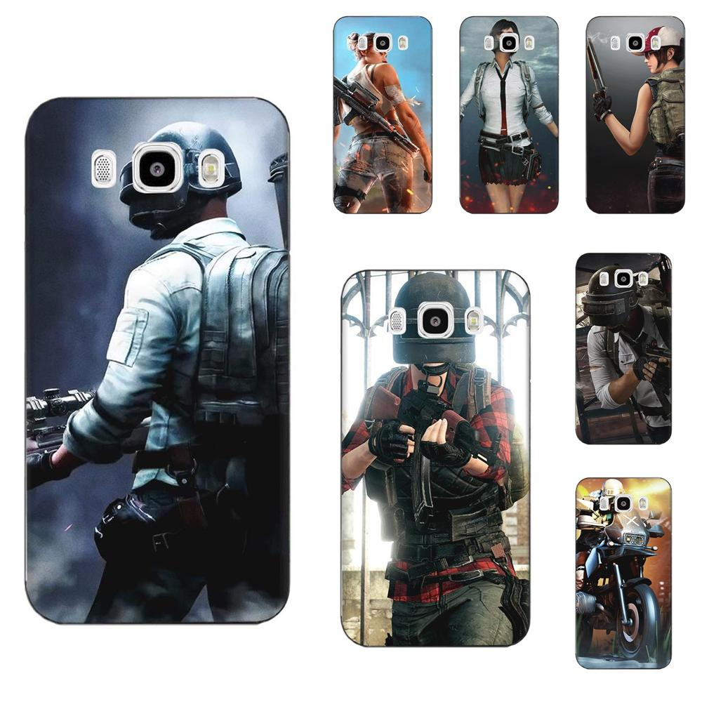 For Samsung Galaxy A10 A20 A20E A3 A40 A5 A50 A7 J1 J3 J4 J5 J6 J7 2016 2017 2018 Soft Transparent Covers Pubg Game