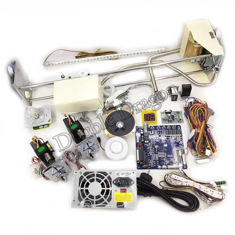 Quality Toy Crane Machine Kit Arcade DIY Set ID Crane Main Board Game Motherboard 71cm Gantry Power Supply Coin Accepor Selector