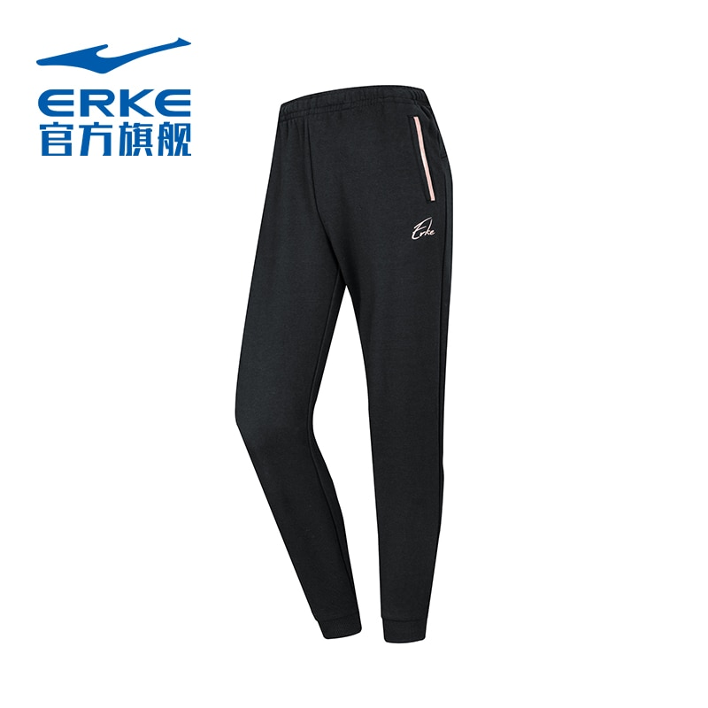 Hongxing Erke Sports Pants Autumn and Winter New Women's Casual Sweatpants Thick Thin Velvet Closed Women's Pants Trousers