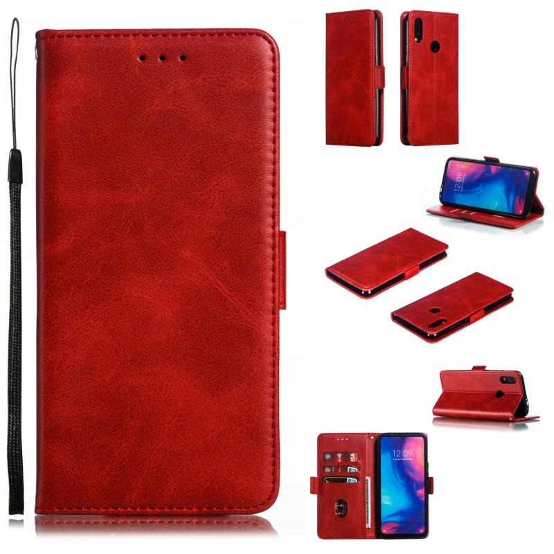 Para Xiaomi Redmi Note 8 7 6 5 4 un 4X Y3 3 Pro Plus A2 Lite 3S S2 Y2 cartera caso para Redmi Note 8 7 6 5 4 4X Pro de lujo cubierta de cuero