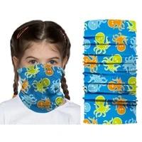 1pc cool magic face bandana cover tube neck scarf headband motorcycle cycling outdoor multi use headwear unisex