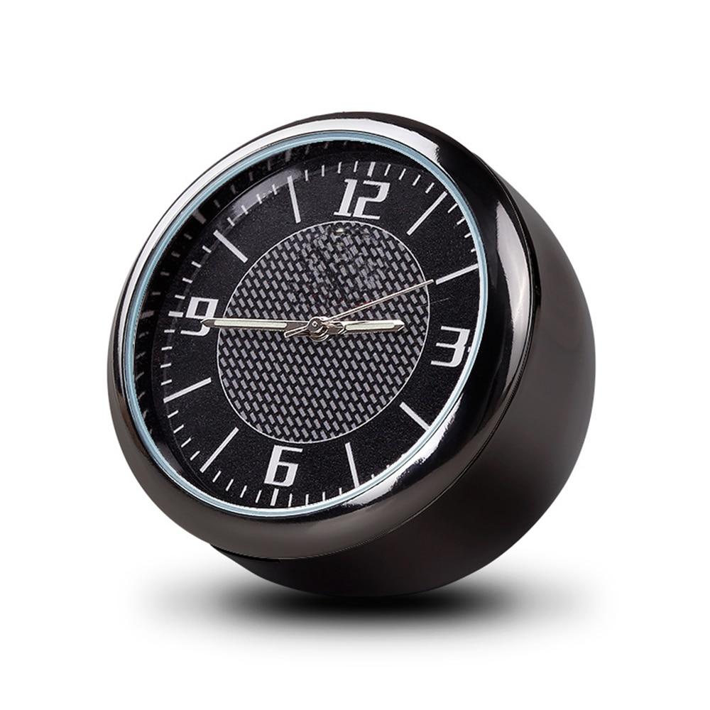 Clip de salida de aire para reloj de coche, mini Decoración Para salpicadero de coche, visualización de tiempo, accesorios de reloj de coche para Toyota nissan honda