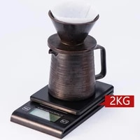 2kg0 1g 3kg0 1g household electronic scale precision food scale coffee scale kitchen scale weighing for weight measurement