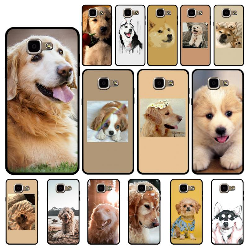 YNDFCNB lindo perro Labrador Husky de Alaska caso de teléfono para Samsung...