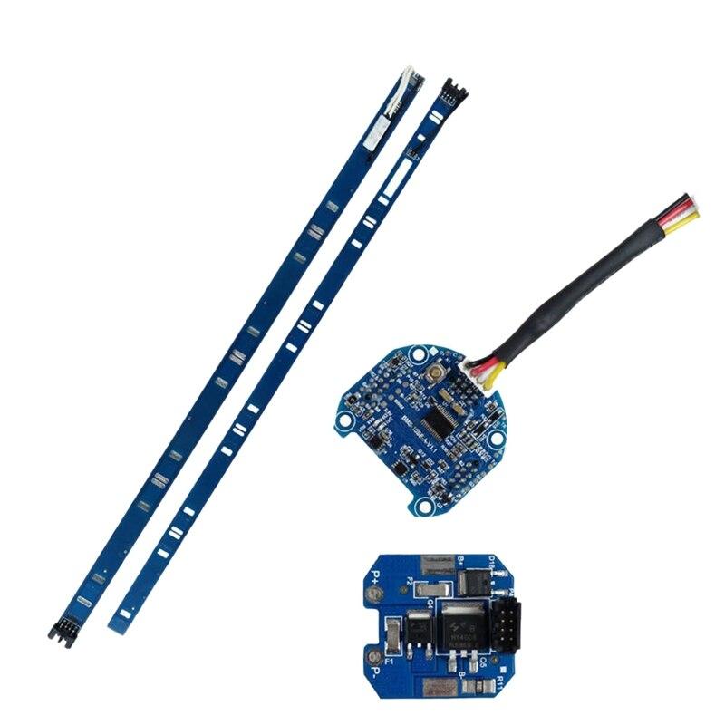 Painel de Proteção da Bateria Placa de Circuito Conjunto para Ninebot Scooter Elétrico Es4 Painel Bms Es1 Es2
