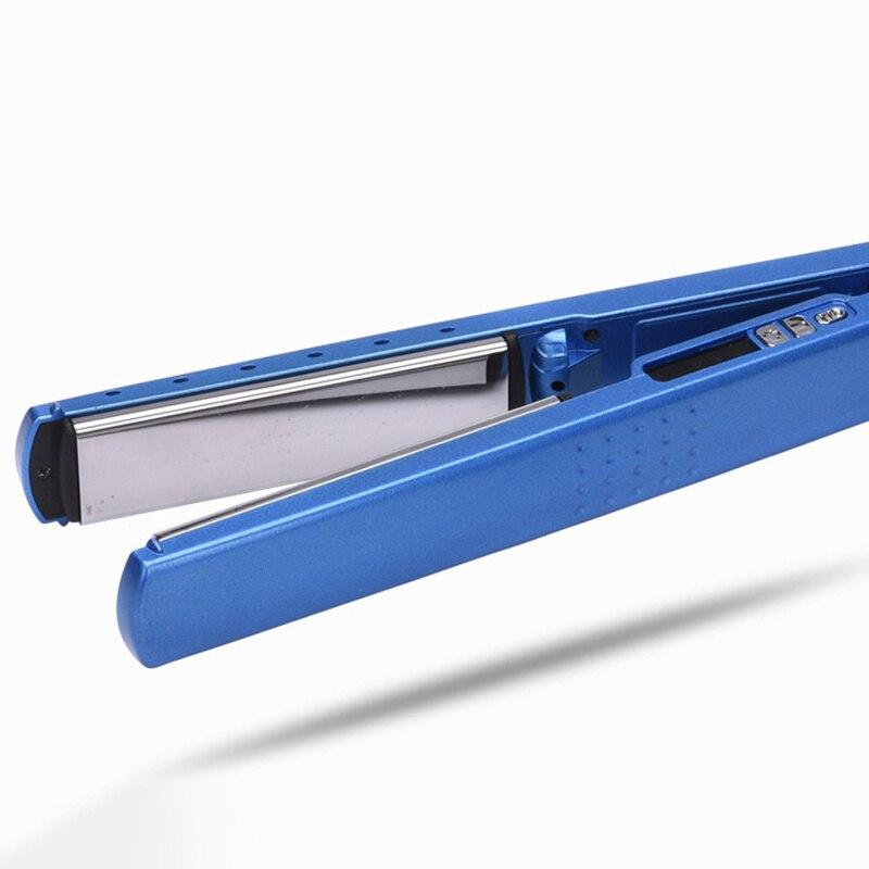 Professional Hair Straightener Flat Iron Salon Hair Iron Styler Fast hair straightener Plate Mirror Surface Nano Titanium Plates enlarge