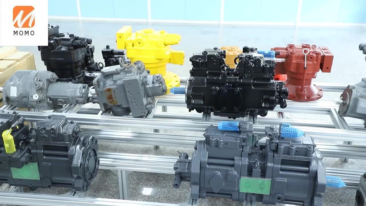 mini excavator part VIO35 hydraulic gear pump  172459-73512 PVD-2B-40 hydraulic pump part gear pump 17245973512 hpv091 hydraulic pump parts head cover for ex200 2 excavator main pump