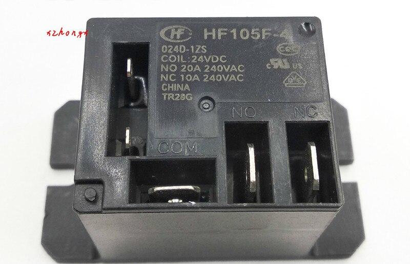 HF105F-4-024D-1ZS relé HONGFA grupo de conmutación de 5 pines 20A240VAC