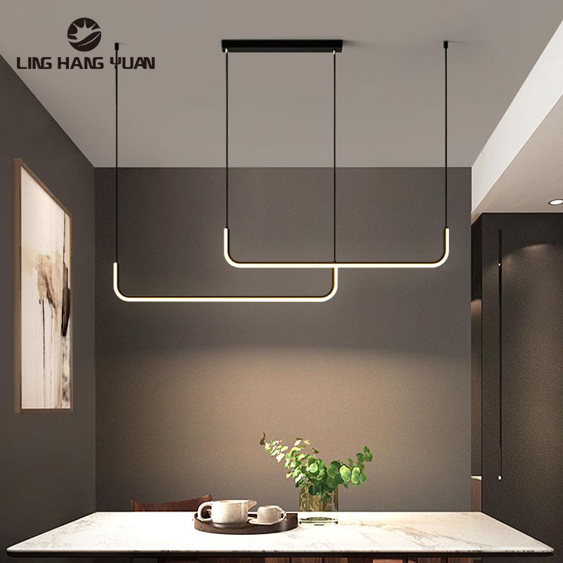Modern LED Chandeliers for Bedroom Dining Room Kitchen Living Room Decor Hanging Lighting Lustre Indoor Chandeliers Lighting