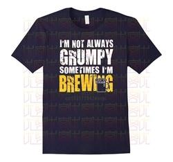 Camisa masculina brewing t-shirts-presente para cervejeiros-engraçado dizendo camisa masculina de manga curta t-shirts streetwear