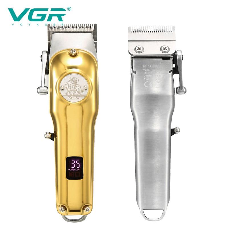VGR 181 مقص الشعر المهنية المتقلب للرجال المتقلب الحلاق كليبرز العناية الشخصية جديد VGR V181