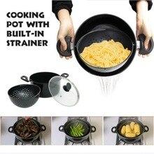 Pot de cuisson à vapeur légumes et fruits   Le plus monde, les Pots de légumes et de fruits, panier passoire comme on la vu, reste toujours vertical