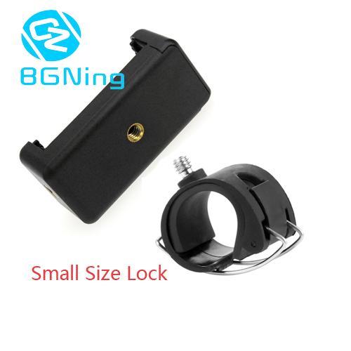 57-85mm Mobile Phone Clamp Selfie Stick Monopod Bar Tube Lock Holder Mount Adapter Tripod Bracket for Gopro Hero 9 8 7 6 5