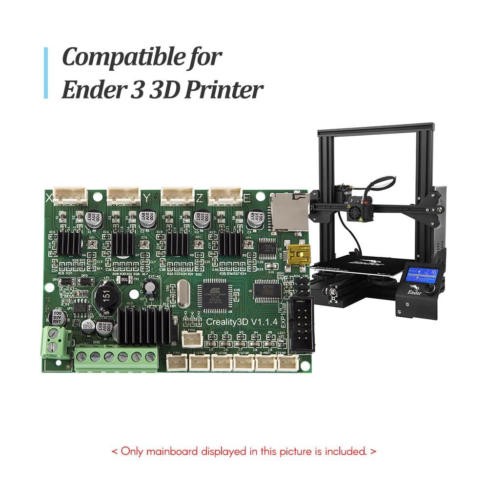 Creality, placa Base de Control 3D, placa madre V1.1.5, placa Base silenciosa para impresora 3D Ender 3/Ender 3 Pro/Ender-5 pro/Ender 5 plus