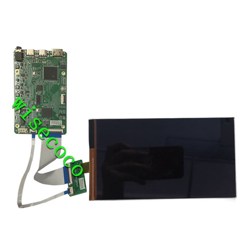 7 Inch LCD Display in-cell Capacitive Touch Module kit 1080x1920 IPS mini  board Landscape Mode enlarge