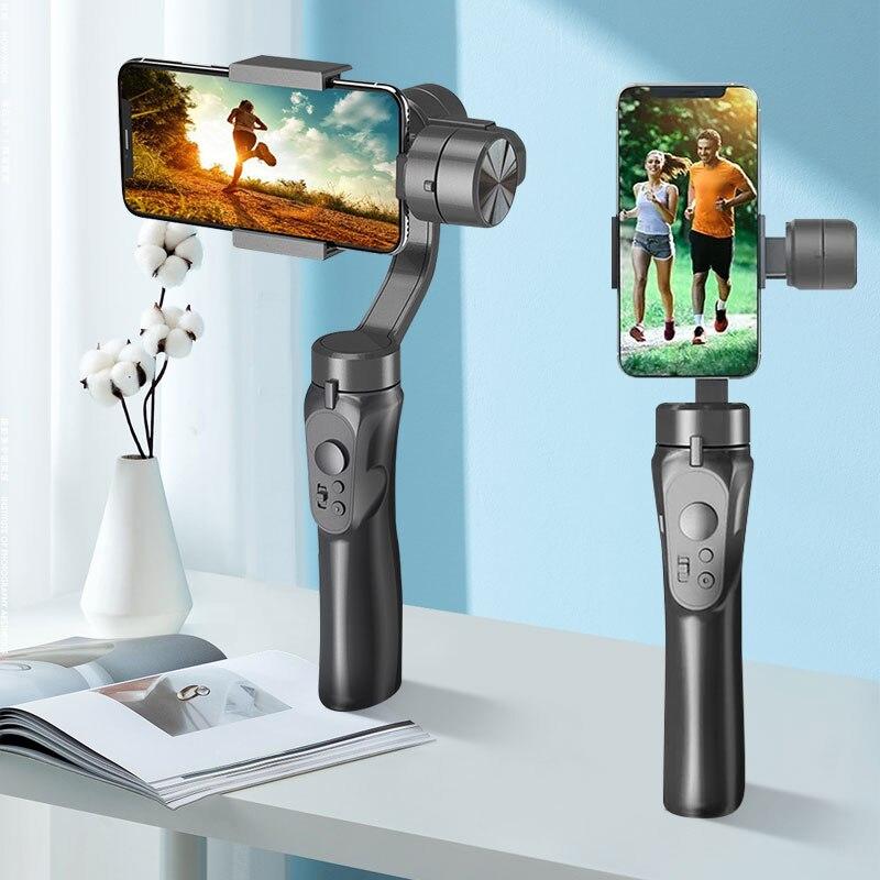 Celular para Telefone Orsda Estabilizador Cardan Ação Smartphone Câmera Gopro Ptz Handheld xs xr x 8 Plus 11 Vlog 3-axis