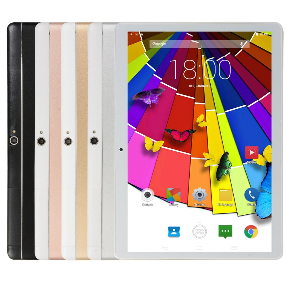 KIVBWY 10.1 inch Tablet PC 2GB+32GB Wi-Fi 3G Phone Call Network Smart Tablet Bluetooth Phablet Four Core Android 8.0 Tablets enlarge