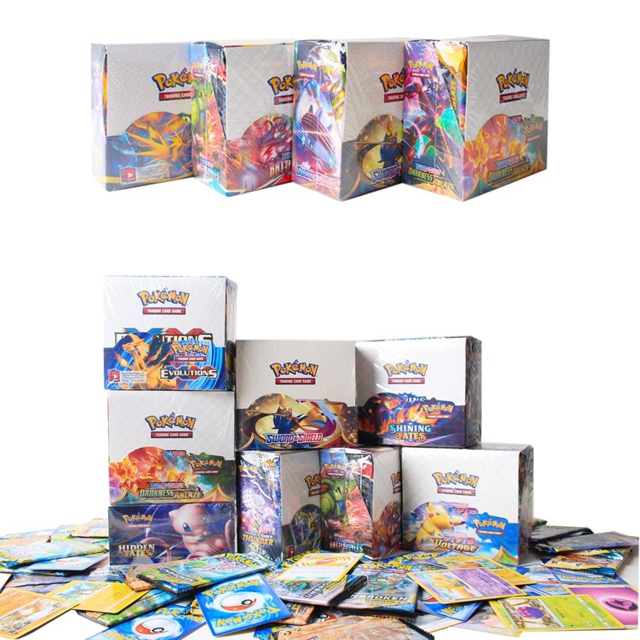 324PCS Pokemon Cards V VMAX Shining Cards English TAKARA TOMY Trading Battle Game Card Collection Bo