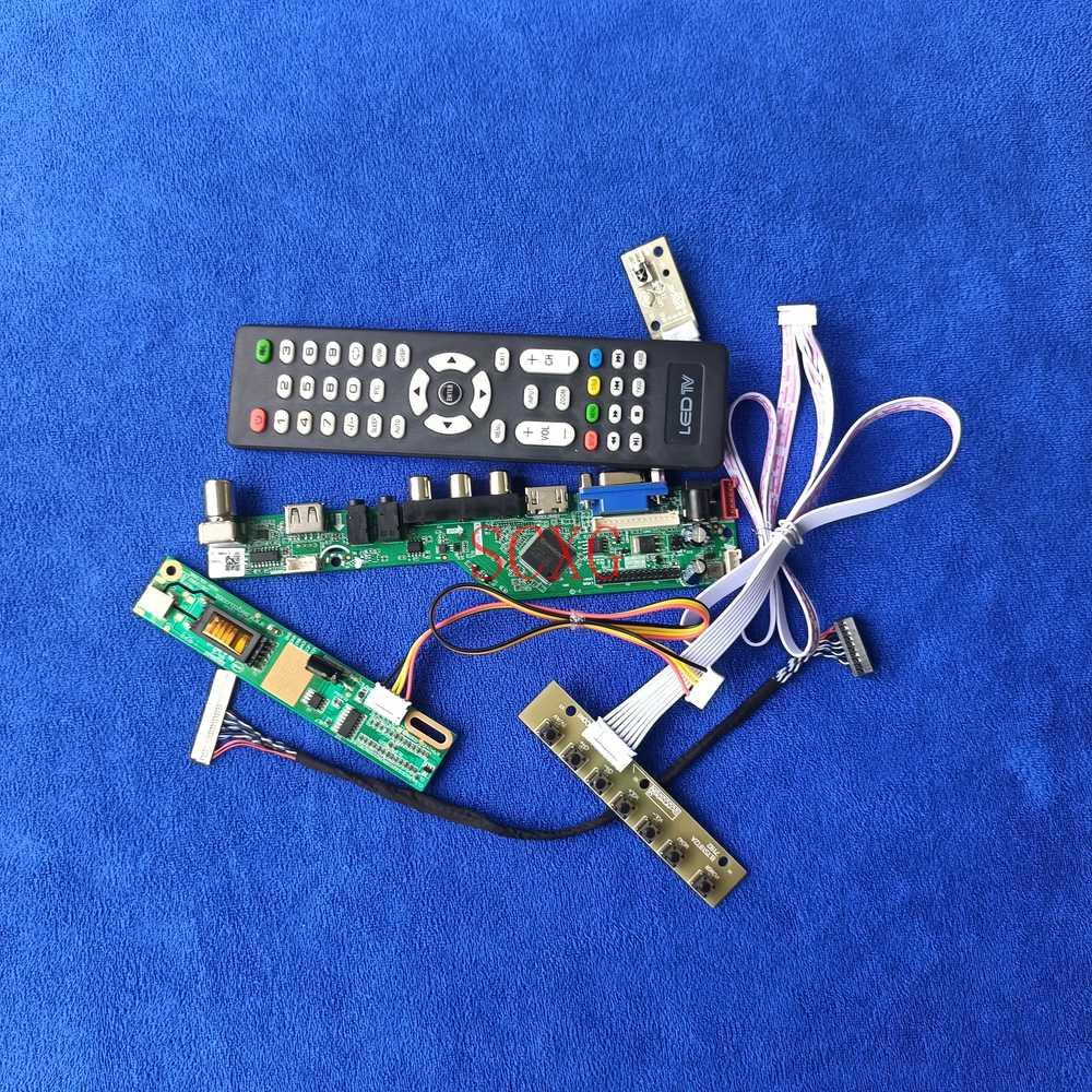 لوحة تحكم لمراقبة طراز CLAA102NA01CW/CLAA102NA32CW 1024*600 1CCFL طقم إشارات تناظرية LVDS 30 دبوس HDMI متوافق مع USB AV VGA