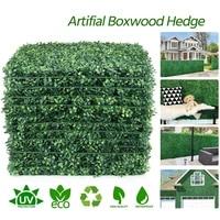 artificial grass plant 40x60cm lawn panels wall fence home garden backdrop decor