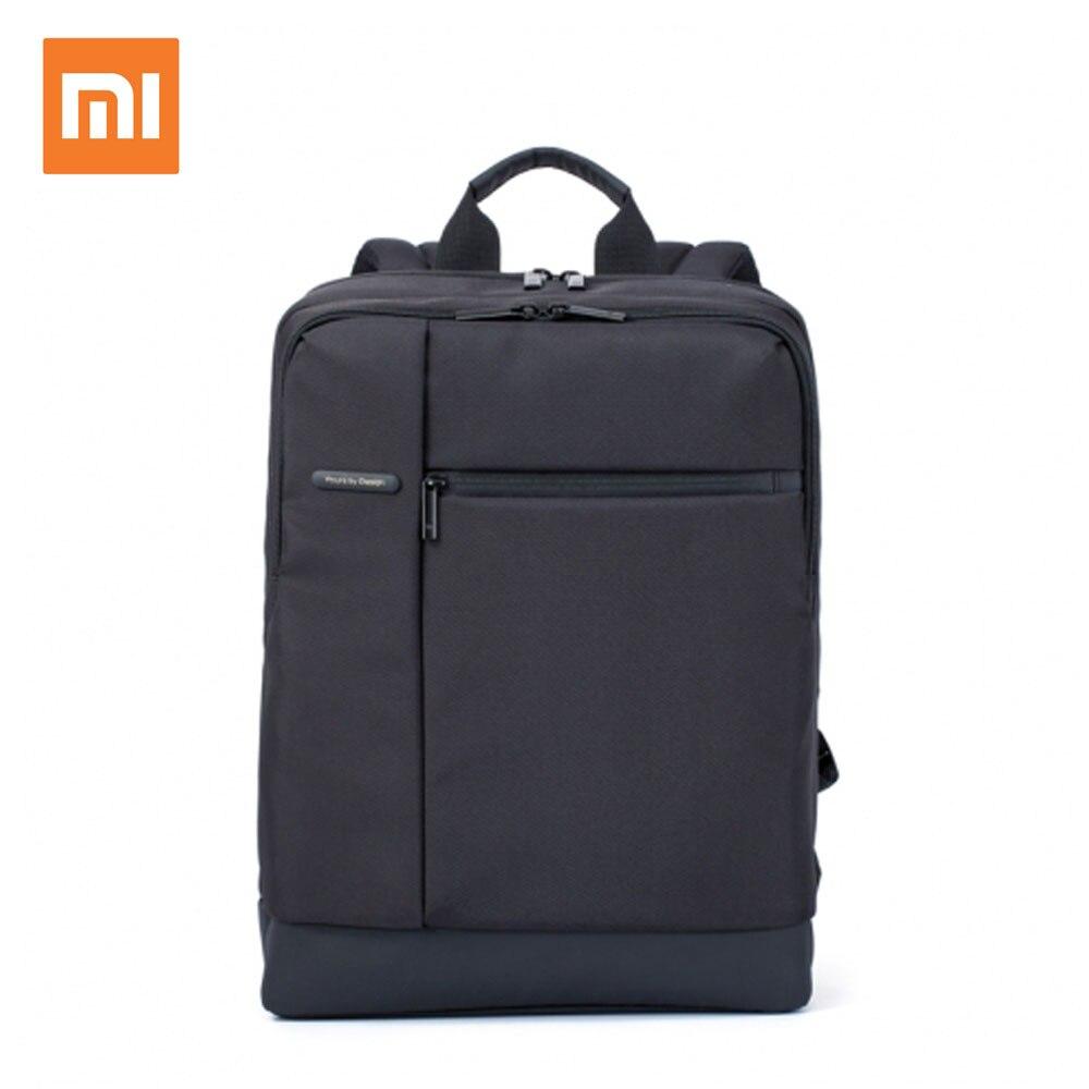 Hot Xiaomi Originais Clássico Negócios Mochilas Sacos Das Mulheres Dos Homens Saco de Grande Capacidade de Estudantes Mochila Adequada para 15-polegada Laptop