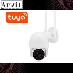 Tuya PTZ IP Camera Outdoor WIFI Wireless Smart Home Security Camera Video Surveillance Night Vision CCTV Camera WIFI Outdoor