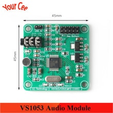 VS1053 Audio Module MP3 Player Module Development Board DC 5V onboard Recording SPI OGG Encoding Recording Control Signal Filter