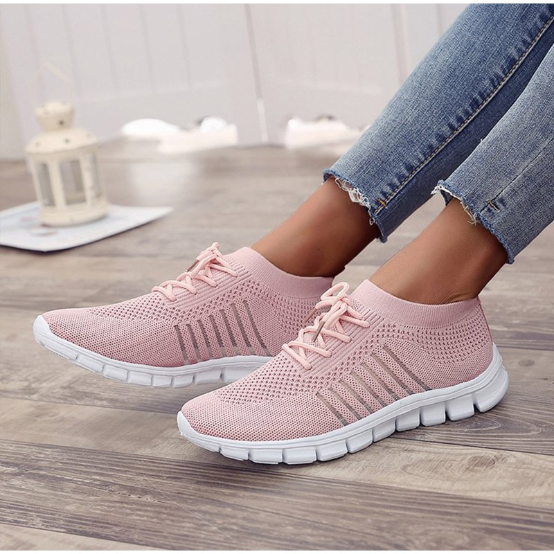 Women's Sneakers Spring Ladies Flat Shoes Casual Women Vulcanized Women 2021 Summer Light Mesh Breat