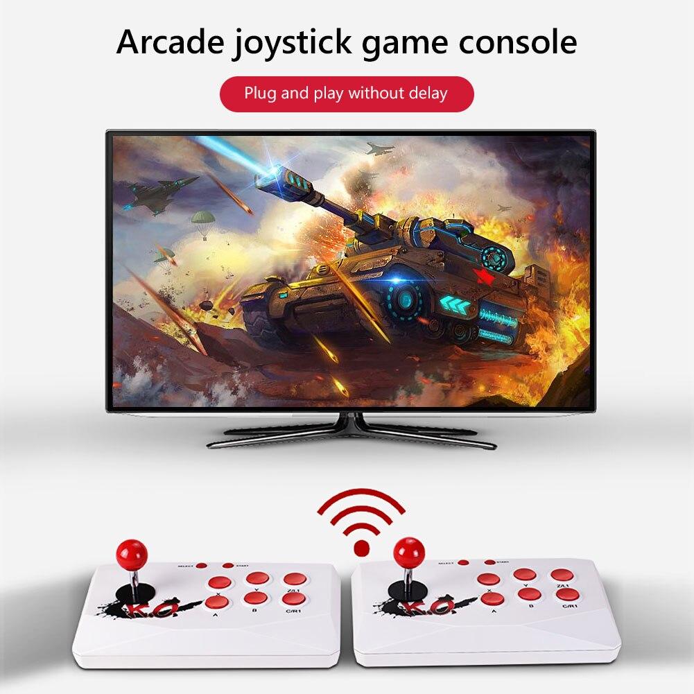 لعبة وحدة التحكم الروك ألعاب الورق مع 2000 + ألعاب لعبة فيديو لاعب Powkiddy A11 للتلفزيون/الكمبيوتر/مراقب لعبة المقود المراقب المالي