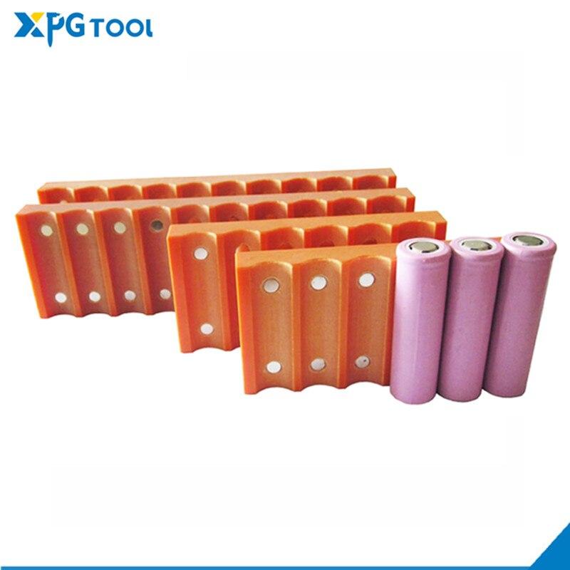 Приспособление для батарей 18650 26650 32650 21700, приспособление для батарей с магнитным зажимом, фиксированный зажим для батарей, сварочный аппара...