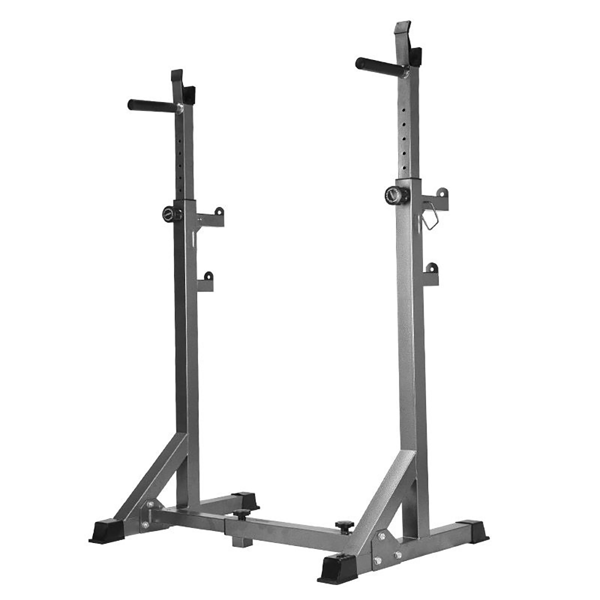 Adjustable Squat Rack 300KG Fitness Muscle Training Barbell Stand Workout Trainer Home Gym Fitness Equipment Weight Lifting