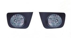 Luces de montaje de lámpara antiniebla Qirun + cubiertas + Cables + interruptor para Toyota 4 RUNNER/HILUX SURF 2005-2009