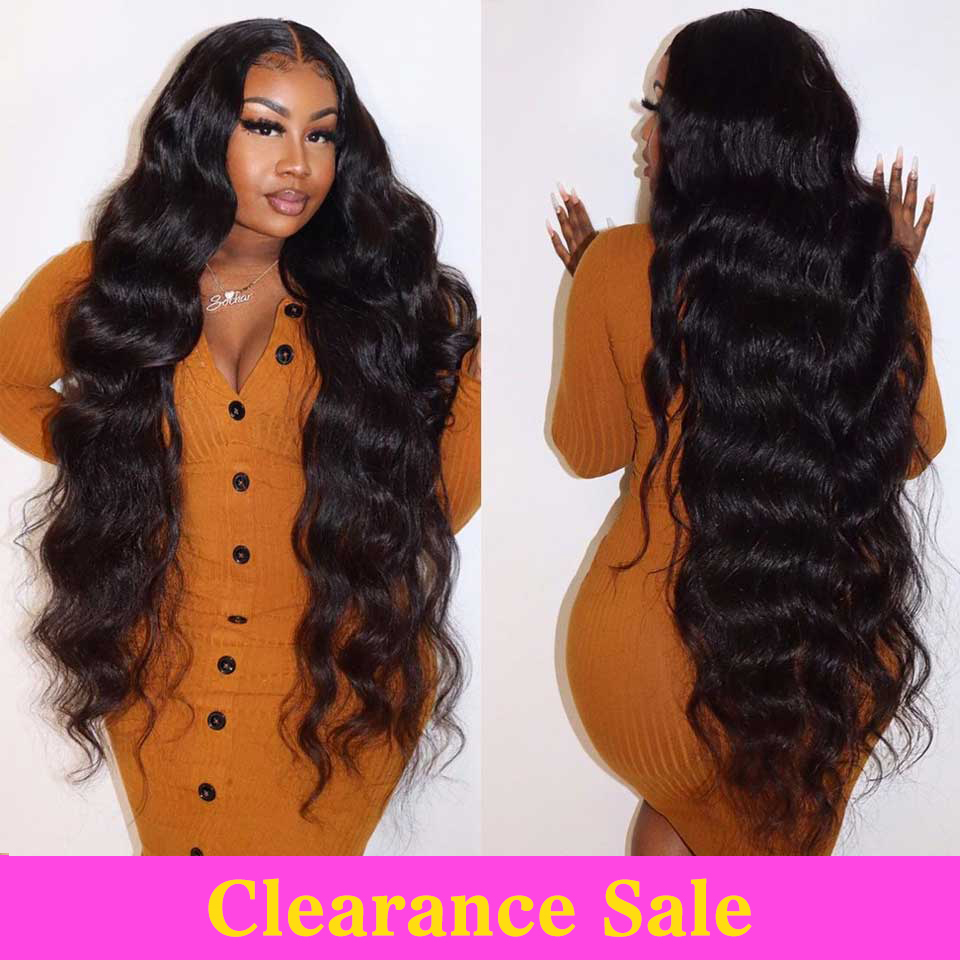 Body Wave Lace Front Wig Transparent Lace Frontal Wigs T Part Remy Brazilian 28 30 32 Inch Long Wavy Body Wave Human Hair Wigs