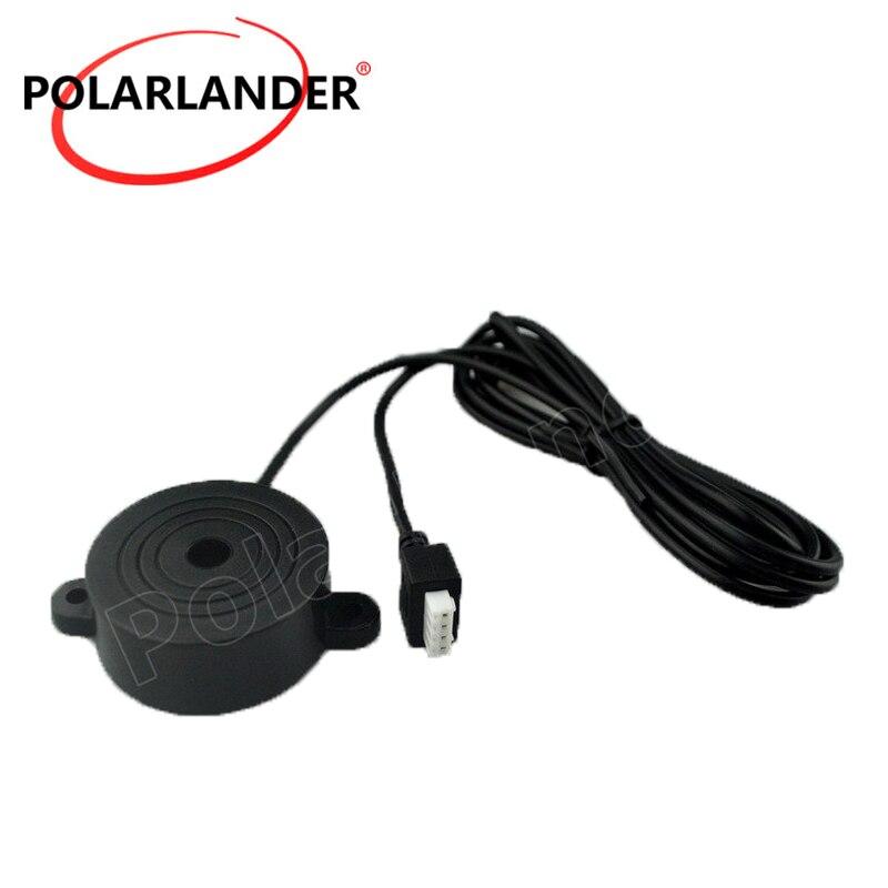 Sensor de aparcamiento para coches de gran calidad de 12V, sensores de timbre, sistema de Radar de respaldo inverso para toda la asistencia de coches, Radar de sonido con voz